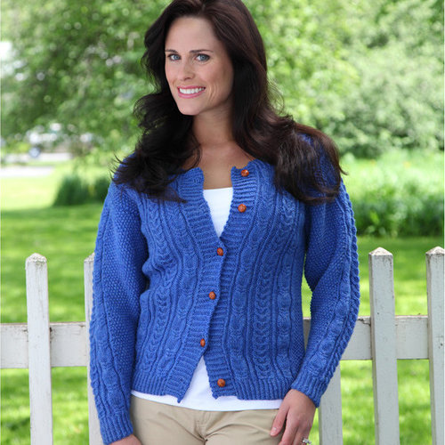 Valley Yarns 320 Alar Cabled Cardigan -  ()