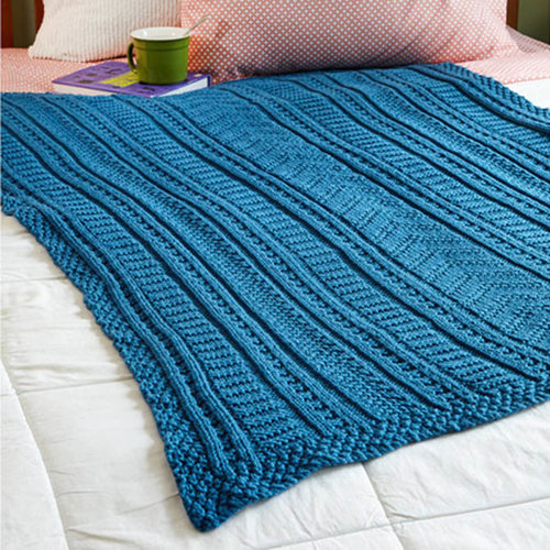 Valley Yarns 331 Five College Blanket - Download (331)