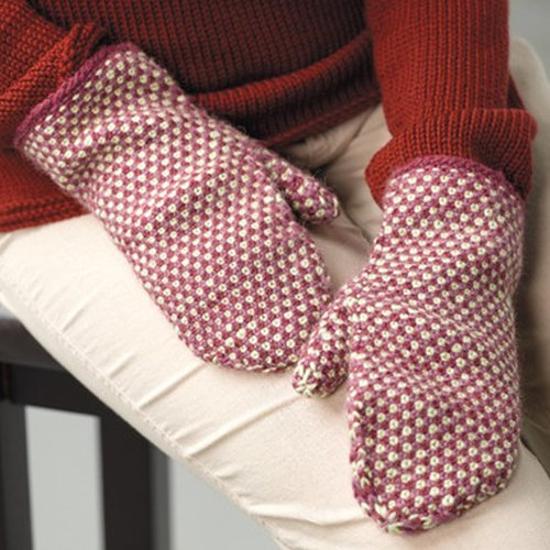 Valley Yarns 339 Fabric Stitch Mittens -  ()