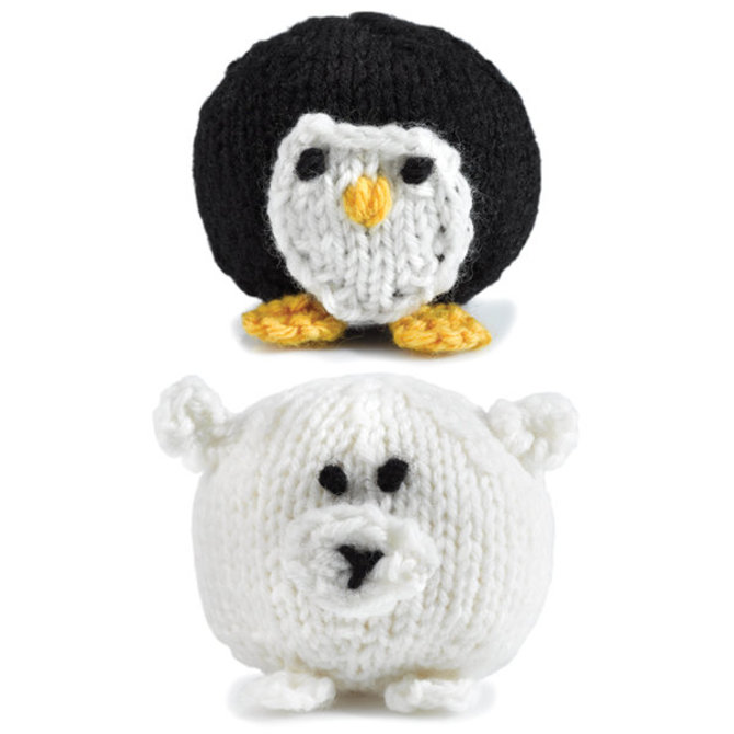 Valley Yarns 347 Knit Penguins And Polar Bears Free At Webs Yarn