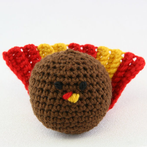 Valley Yarns 352 Crocheted Turkey (Free) -  ()
