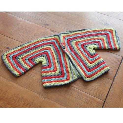 Valley Yarns 359 Carle Crocheted Baby Cardigan - Download (359)
