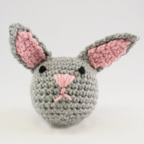 Free Crochet Pattern For Bunny Pin : Valley Yarns 368 Crocheted Rabbit (Free) at WEBS Yarn.com