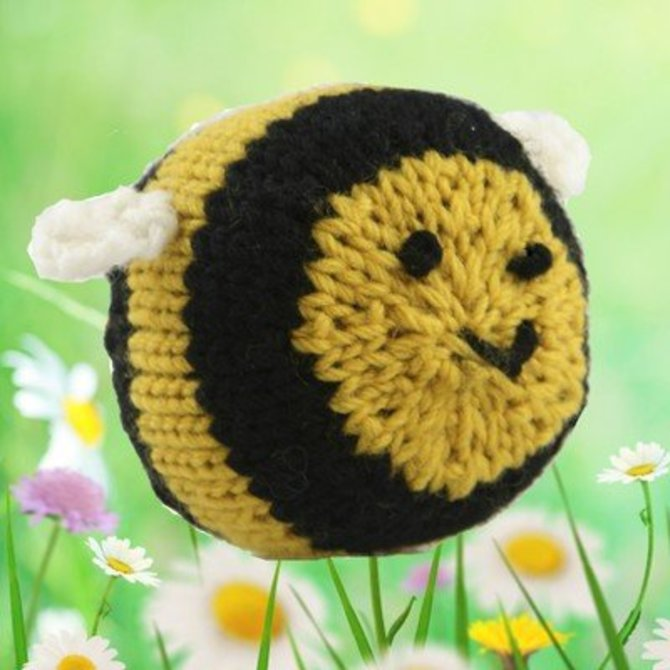 Bumble Bee Knitting Pattern : Valley Yarns 376 Knit Bumblebee (Free) at WEBS Yarn.com
