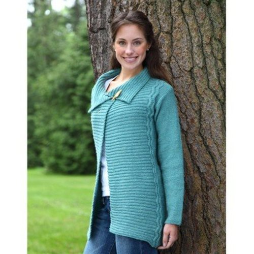 Valley Yarns 388 Out of the Blue Cardigan -  ()