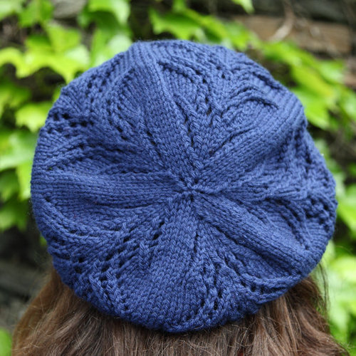 Valley Yarns 391 Willow Beret - Download (391)