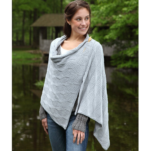 Valley Yarns 398 Beveled Silver Scarf and Wrap - Download (398)