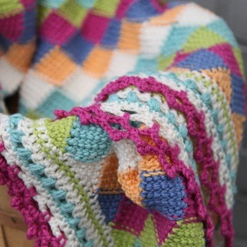 Valley Yarns 404 Playing Blocks Baby Blanket - Download (404)