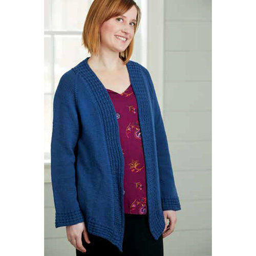 Valley Yarns 40th Anniversary 03 Windchill Cardigan - Download (03PDF)