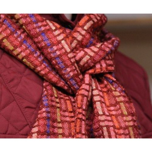 Valley Yarns 40th Anniversary 04 Lattice Weave Scarf PDF -  ()