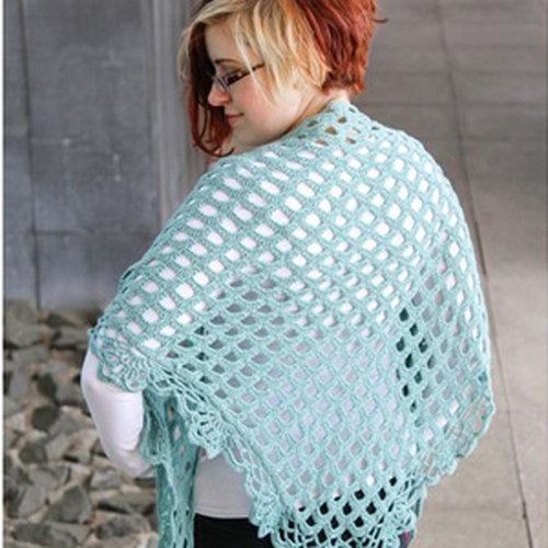 Valley Yarns 40th Anniversary 06 Sermilik Shawl - Download (06PDF)