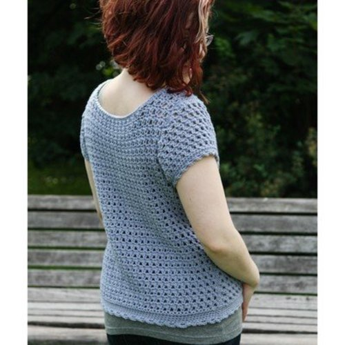 Valley Yarns 40th Anniversary 11 Cirro Tee - Download (11PDF)