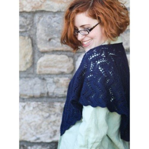 Valley Yarns 40th Anniversary 14 Tirrick Shawl - Download (14PDF)