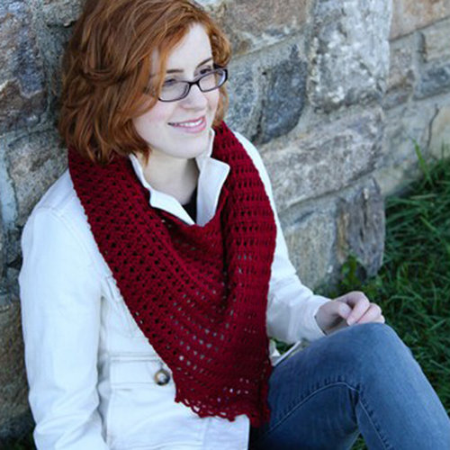 Valley Yarns 40th Anniversary 15 College Park Shawl - Download (15PDF)