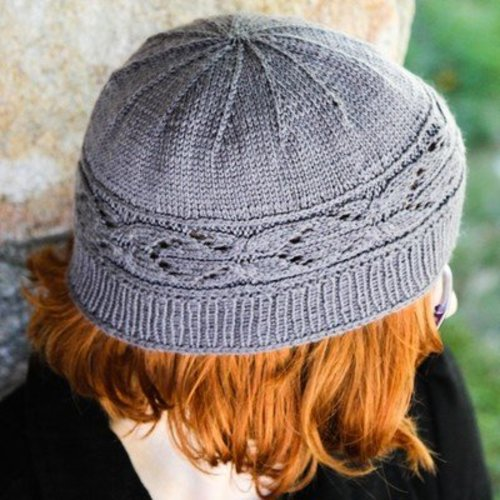 Valley Yarns 40th Anniversary 16 Clivia Hat and Mitt Set - Download (16PDF)