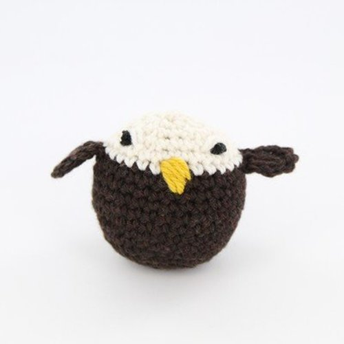 Valley Yarns 411 Crocheted Bald Eagle (Free) -  ()