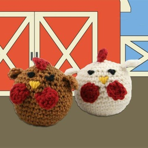 Valley Yarns 426 Crocheted Chickens (Free) -  ()