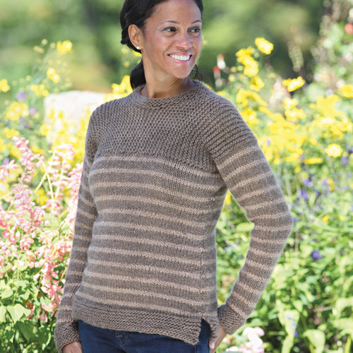 Valley Yarns 429 Farmer Brown Pullover - Download (429)