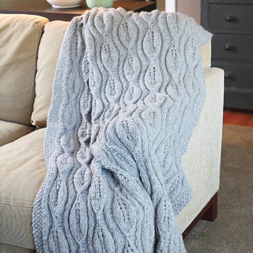 Valley Yarns 430 Bas-Relief Blanket - Download (430)