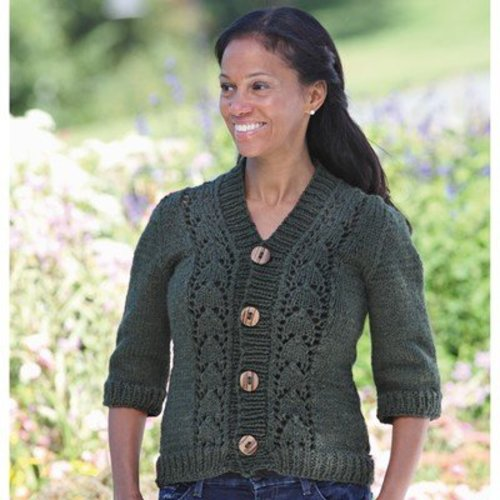 Valley Yarns 437 Loire Cardigan - Download (437)