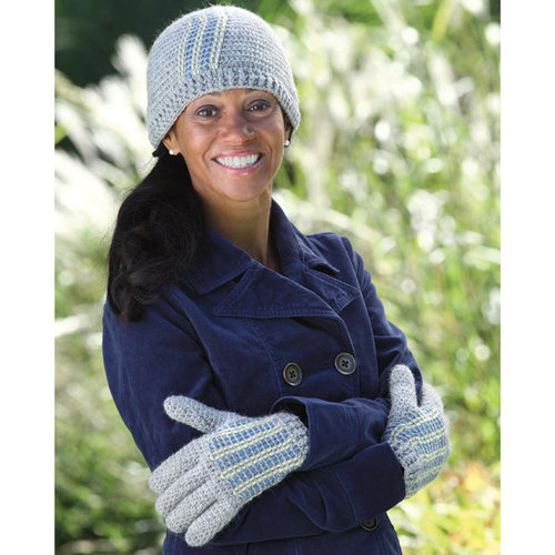 Valley Yarns 440 Wheatleigh Hat and Gloves -  ()