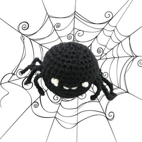Valley Yarns 443 Crocheted Spider (Free) -  ()
