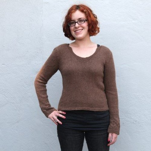 Valley Yarns 457 Oak Grove Pullover (Free) -  ()