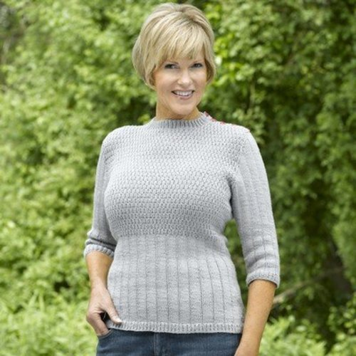 Valley Yarns 461 Miller's Pond Pullover - Download (461)