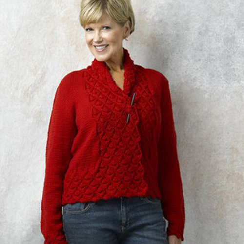 Valley Yarns 462 Hearts of Oak Cardigan - Download (462)