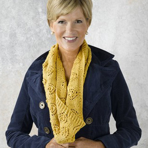 Valley Yarns 465 Candle of Glory Cowl - Download (465)