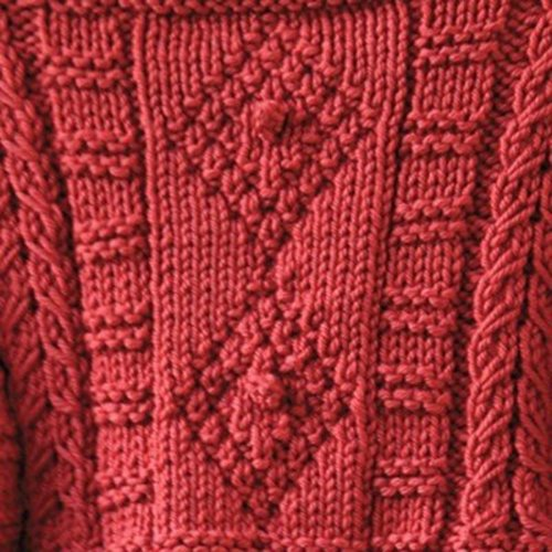 Valley Yarns 482 Copper Penny Child's Pullover - Download (482)