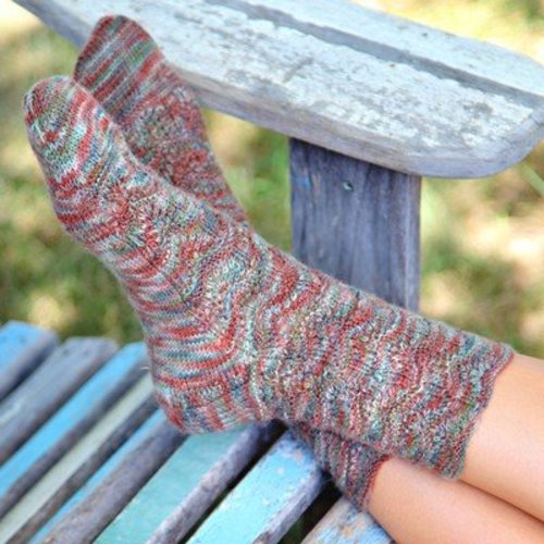 Valley Yarns 490 Pinecone Socks - Download (490)