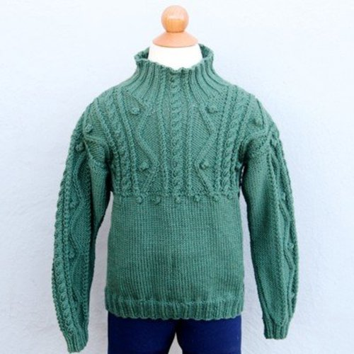 Valley Yarns 493 Child's Forest Pullover PDF - Download (493)