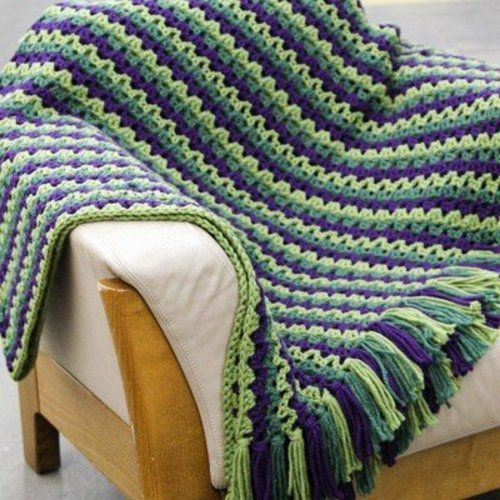 Valley Yarns 494 Berry Bramble Blanket - Download (494)