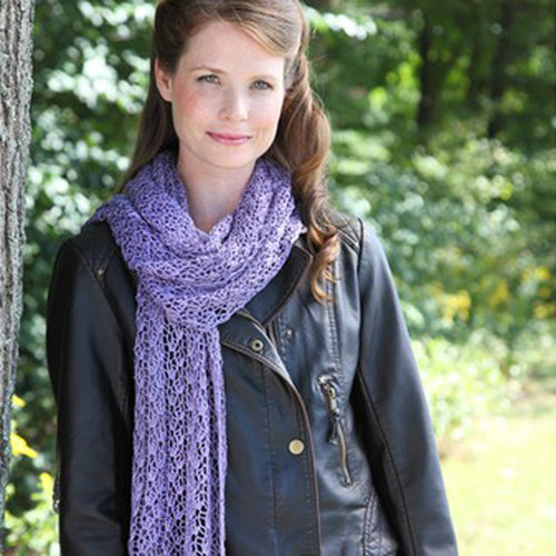 Valley Yarns 506 Crocus Lace Stole - Download (506)
