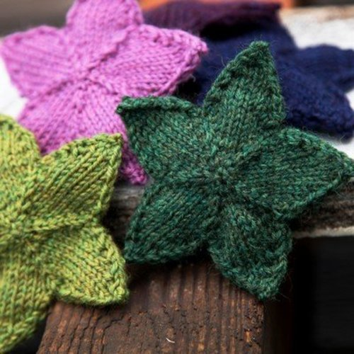 Valley Yarns 509 Knit Stars (Free) -  ()