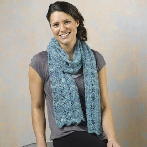 Valley Yarns 519 Tide Pool Stole - Download (519)