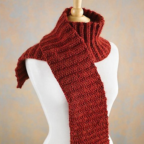 Valley Yarns 524 Cranberry Scarf -  ()