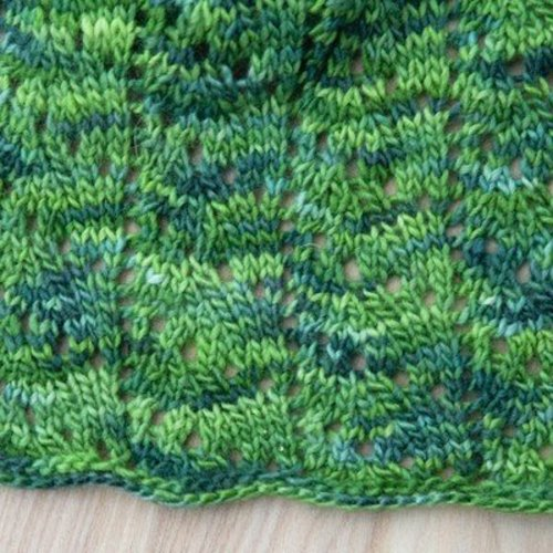 Valley Yarns 528 Fern Leaf Wrap - Download (528)