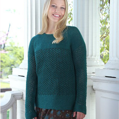 Valley Yarns 531 Vetiver Lace Pullover - Download (531)
