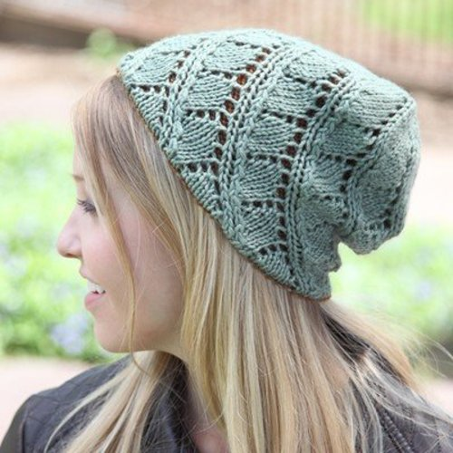 Valley Yarns 532 Birch Leaf Hat - Download (532)