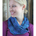 Valley Yarns 540 Galene Cowl Kit - Octopus Garden (OCTO)