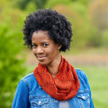 Valley Yarns 540 Galene Cowl Kit - Sunset (SUNS)