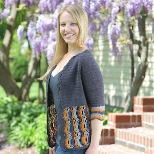 Valley Yarns 546 Alexandrium Cardigan - Download (546)