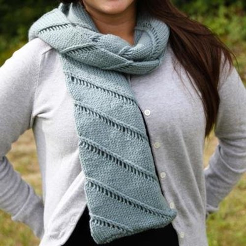 Valley Yarns 552 Twist Scarf - Download (552)