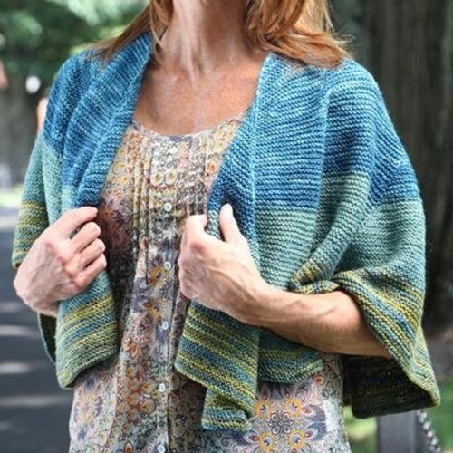 Valley Yarns 556 Foxfire Shawl - Download (556)