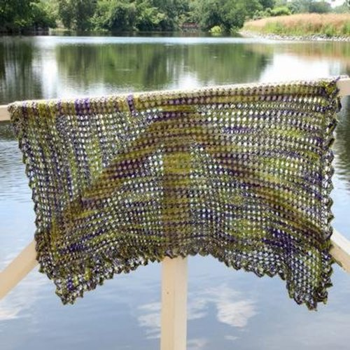 Valley Yarns 557 Ajuga Shawl - Download (557)