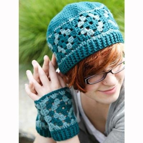 Valley Yarns 559 Marjoram Hat & Mitts - Download (559)