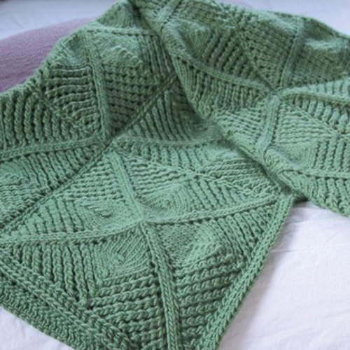 Valley Yarns 566 Mitchella Blanket - Download (566)