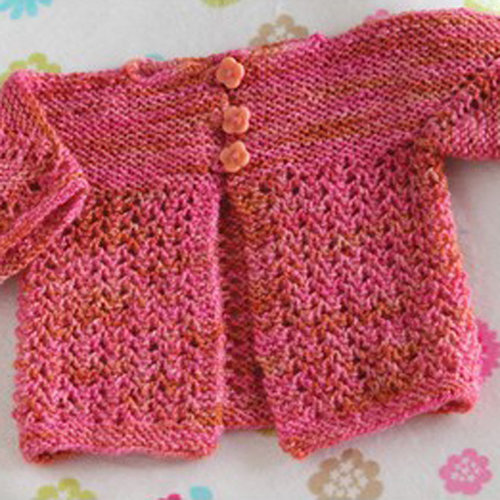 Valley Yarns 568 Dianthus Baby Cardigan - Download (568)